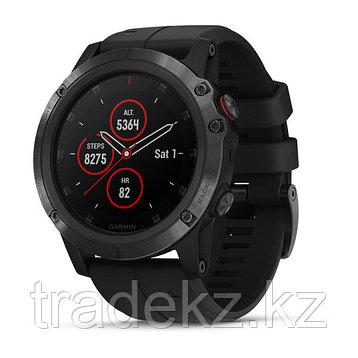 Часы с GPS навигатором Garmin Fenix 5X Plus Sapphire черные с черным ремешком (010-01989-01), фото 2