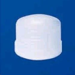 Крышка завинчивающаяся фторопластовая, резьба GL 45, раб.t от -200* до 260*С, (FEP)(Savillex)