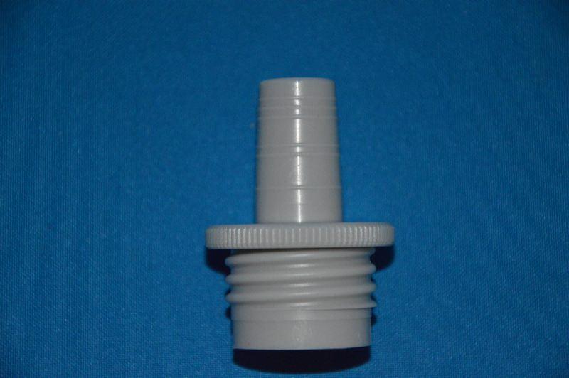 Адаптер полипропиленовый для флакон-диспенсеров, цифровых бюреток, внешняя резьба GL 32, для бутыля шлиф 19/26 (VITLAB)