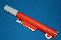 Устройство для заполнения пипеток поршневого типа, красное, для пипеток до 25 мл (VITLAB)