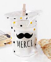 """Пакет """"Усы Merci"""", 12 x 19 см, комплект 10 штук"""