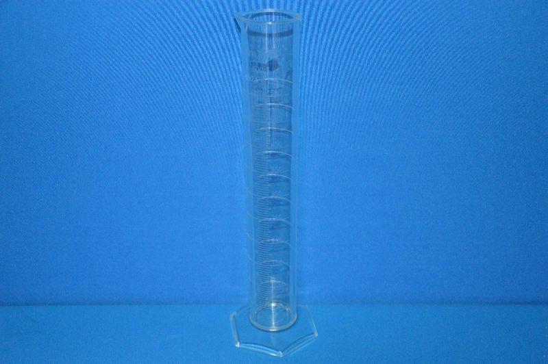 Цилиндр мерный с носиком высокий, 500 мл, ц.д.5 мл, класс А, 6-гранное основание, рельефная градуировка, РМР (VITLAB)