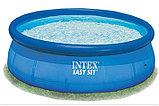 Бассейн Intex каркасный с фильтром для воды в комплекте 305*76, фото 2