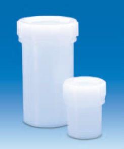 Контейнер для образцов полиэтиленовый, V-5 мл, прочный, винт.крышка (PE-HD) (VITLAB)