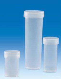 Виала для образцов полипропиленовая, V-50 мл, с плотно закрывающейся крышкой (РР) (VITLAB)