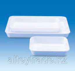 Лоток пластиковый, глубокий, белый, 290х160х60 мм (MF) (VITLAB)