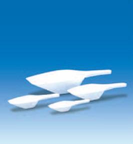Совок мерный пластиковый, L-200 мм, V-100 мл, белый (PP) (VITLAB)
