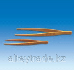 Пинцет пластиковый с закругленными концами, L-250 мм, желтый (POM) (VITLAB)