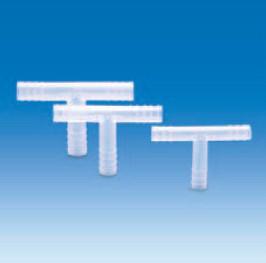 Переходник Т-образный полипропиленовый для шлангов с внутр.d-4-5 мм (PP) (VITLAB)