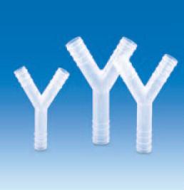 Переходник Y-образный полипропиленовый для шлангов с внутр.d-4-5 мм (PP) (VITLAB)