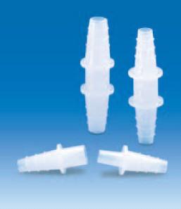 Переходник разъемный (2 части) полиэтиленовый для шлангов с внутр.d-13-16 мм (PE-HD) (VITLAB)
