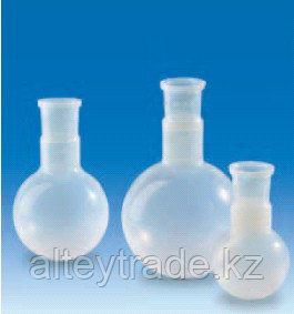 Колба круглодонная фторопластовая, V-100 мл, шлиф 29/32 (PFA) (VITLAB)
