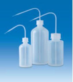 Промывалка узкогорлая полиэтиленовая 1000 мл, винт.крышка GL32 (PE-LD) (VITLAB)