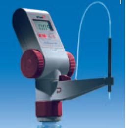 Бюретка цифровая continuous RS V=50 мл, V дозир. при ручном титровании-5 мл, двойной поршневой насос (VITLAB)