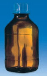 Бутыль темная V-2,5 л для флакон-диспенсеров и цифровых бюреток, GL 45 (VITLAB)
