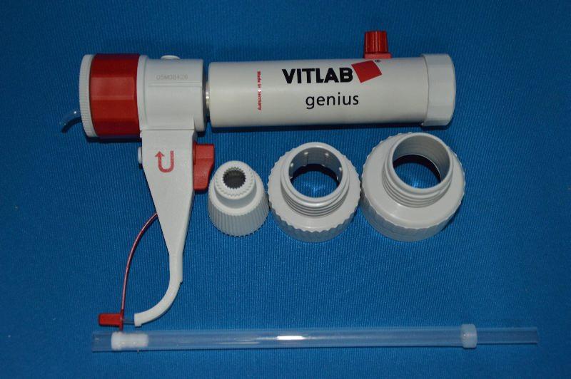 Диспенсер VITLAB simplex, V-5,0-50,0 мл, ц.д.1мл, GL 45