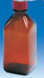 Бутыль темная для флакон-диспенсеров и цифровых бюреток, V-500 мл, GL 32 (VITLAB)