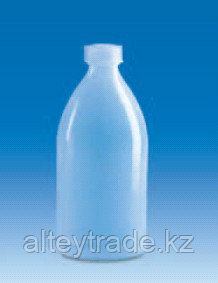 Бутыль узкогорлая полиэтиленовая, V-10 мл, винт.крышка (PE-LD) (VITLAB)