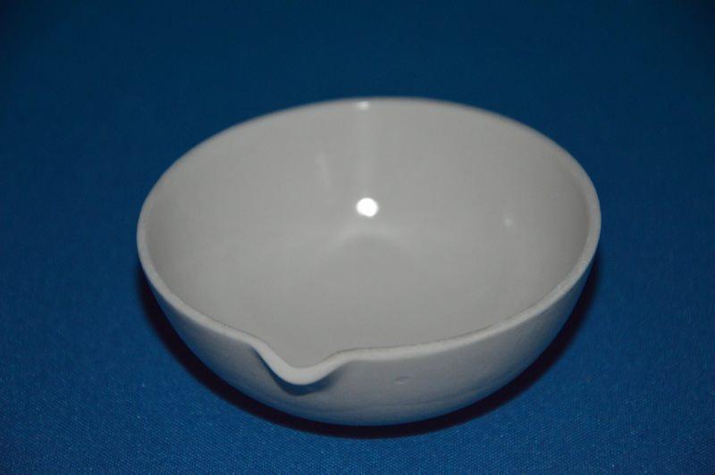 Чашка выпарительная фарфоровая с носиком, 82/32-75