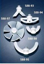 Насадка перемешивающая со складными лопастями, d-70 мм из PTFE (SVL)