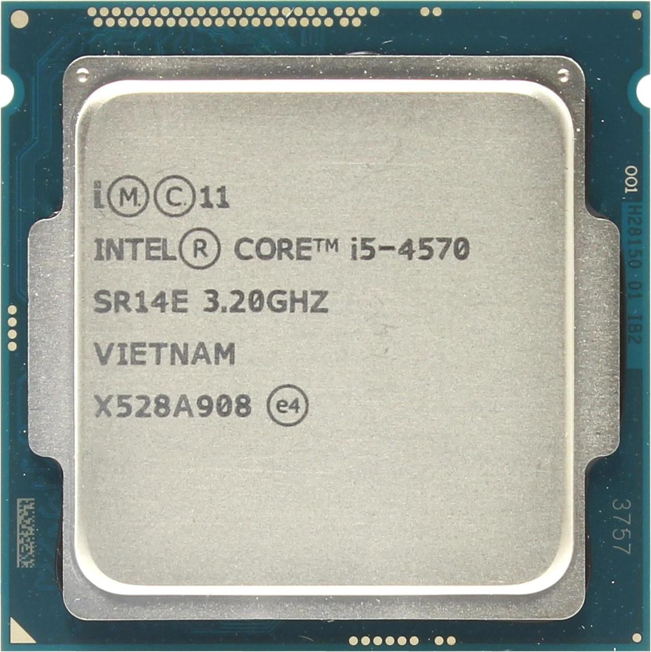 Процессор Intel Core i5-4570 1150 6M, 3.20 GHz