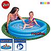 Детский круглый надувной бассейн Intex 59416, Crystal Blue Pool, Размер 114х25 см