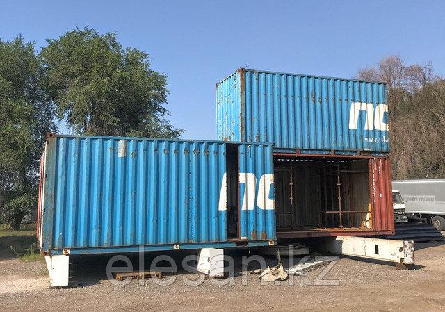 Утепление контейнера в Алматы