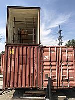 Утепление контейнера в Алматы пеной (пенополиуретаном), фото 1