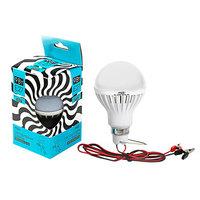 Лампа светодиодная низковольтная Luazon, E27, 6500 K, 12 В, холодный белый