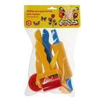 Набор для лепки 'Каляка-Маляка', 6 предметов, пластик