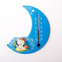 Термометр комнатный 'Сувенир. П-17', основание - пластмасса, рисунок 'Месяц'
