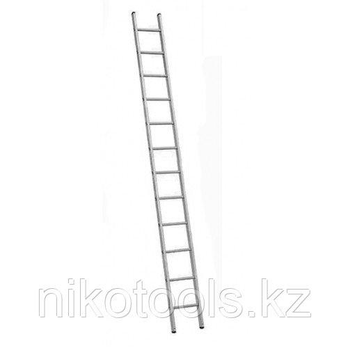 Алюминиевая лестница 1х12 Н=3,35/ м (5112)