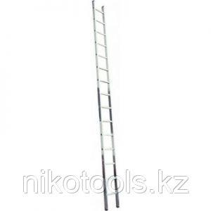 Алюминиевая лестница 1х15 Н=4.2 м (5115)