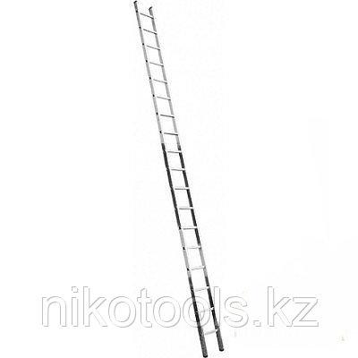 Алюминиевая лестница 1х18 Н=5.07 м (5118)