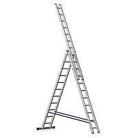 Ал. лестница 3х11, Н=3,1/5,04/7,02м ( 5311)