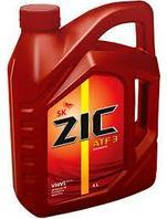 Трансмиссионное масло ZIC ATF 3 4литра