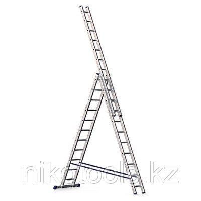 Ал. лестница 3х13, Н=3,67/6.45/9,27м ( 6313)