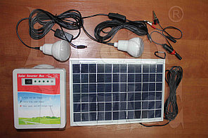 Солнечная батарея переносная с аккумулятором
