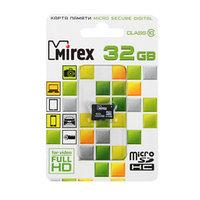 Карта памяти Mirex microSD, 32 Гб, SDHC, класс 10
