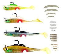 Набор уникальных приманок для ловли рыбы из 100 предметов «Mighty Bite»