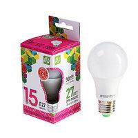 Лампа светодиодная ASD LED-A60-standard, Е27, 15 Вт, 230 В, 6500 К, 1350 Лм