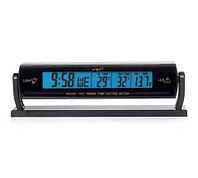 Термометр автомобильный с часами и вольтметром VST-7013V
