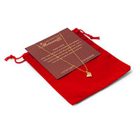 Кулон на исполнение желания с искусственным бриллиантом MOISSANITE Store