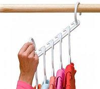 Чудо-вешалка Wonder Hanger с комплектом плечиков «Triples Closet Space» {8 плечиков}