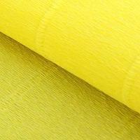 Бумага гофрированная, 574 'Карминно-желтая', 0,5 х 2,5 м