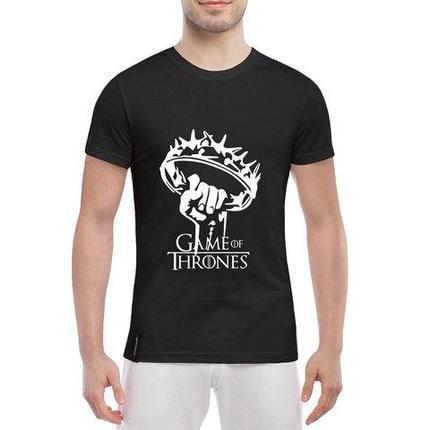 Футболка фаната «Игры престолов» с принтом (L / Корона), фото 2