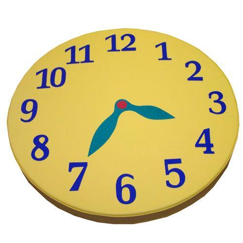 Мат круглый «Часы» (набор: цифры, стрелки) и т.п.