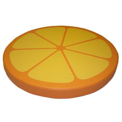 Мат круглый «Лимонная долька» «Арбузная долька» «Часы» «Лимонная долька» и т.п. (могут быть складные)