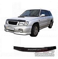 Мухобойка (дефлектор капота) на Subaru Forester /Субару Форестер 1996-2002
