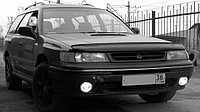 Мухобойка (дефлектор капота) на Subaru Legacy/Субару Легаси 1994-1998, фото 1